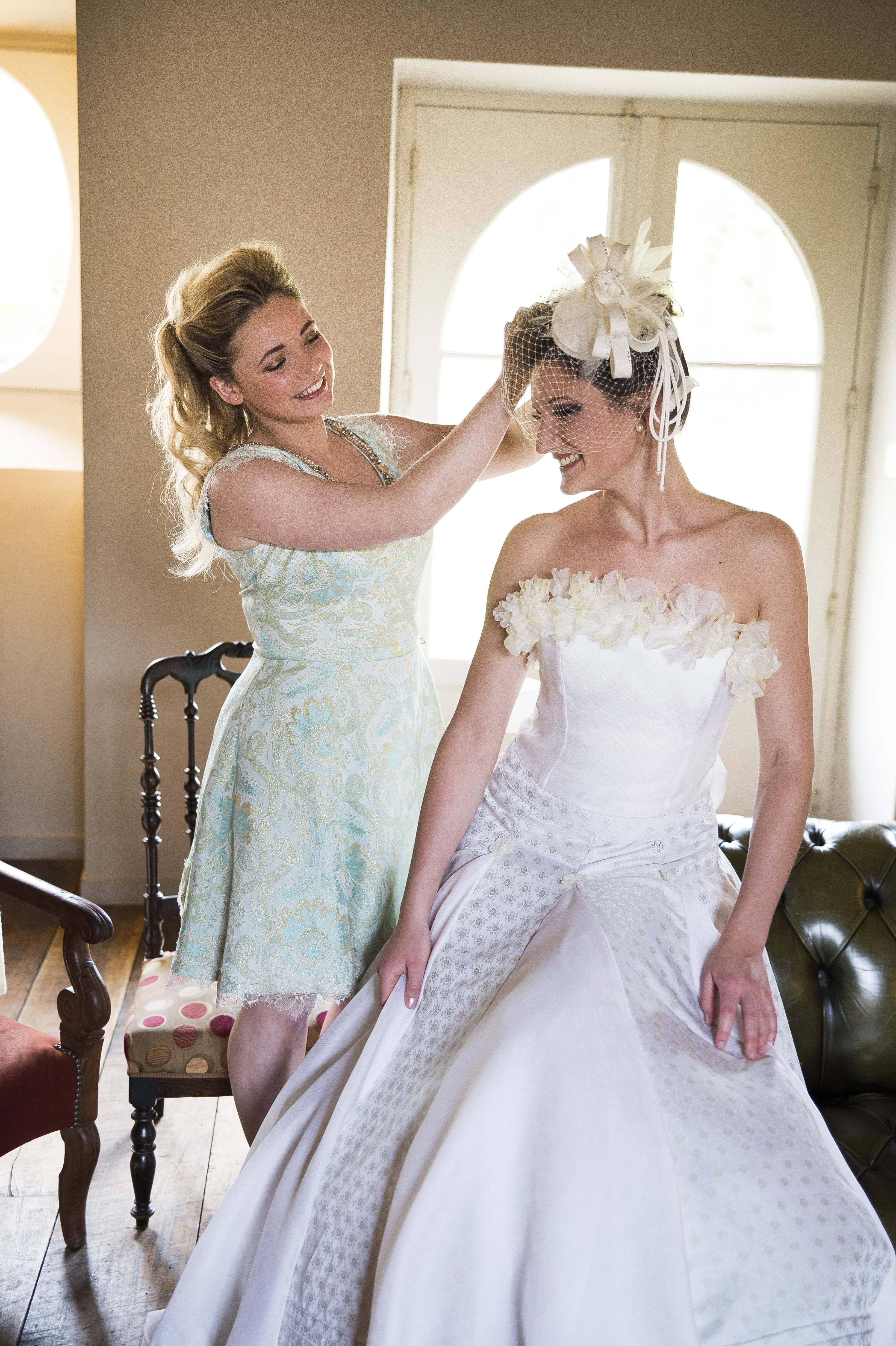 Chignon et coiffure de mariage