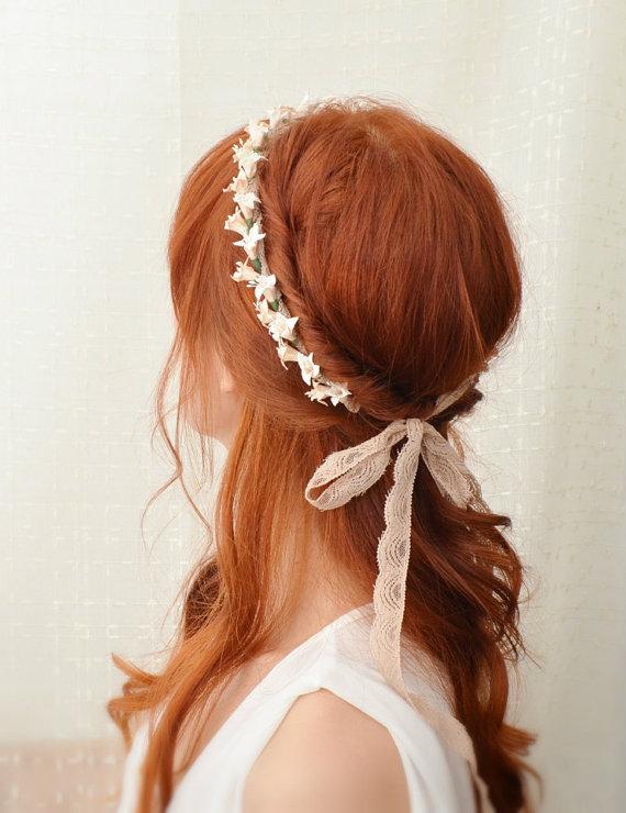 Accessoires coiffure de mariage