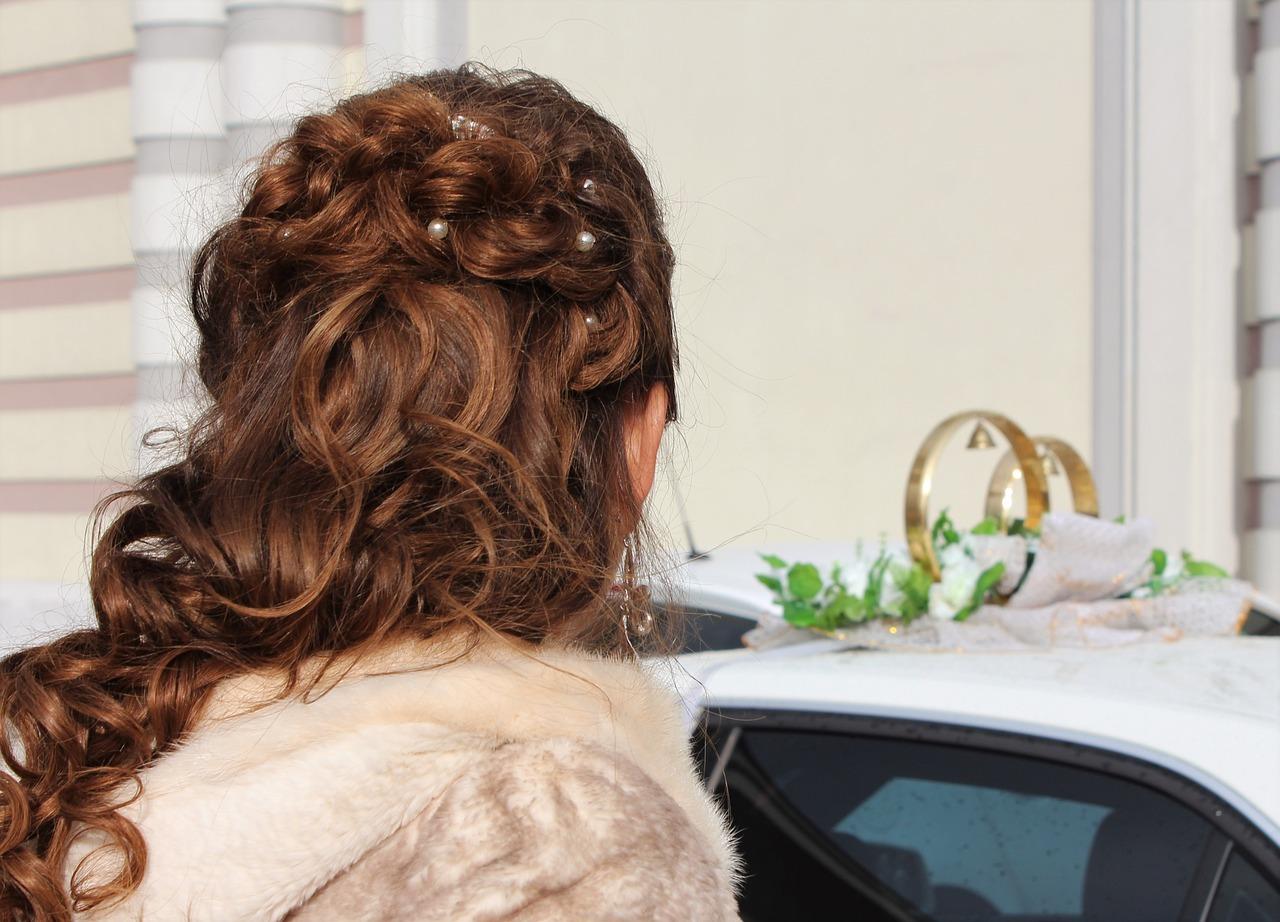 cheveux mariage (préparation)