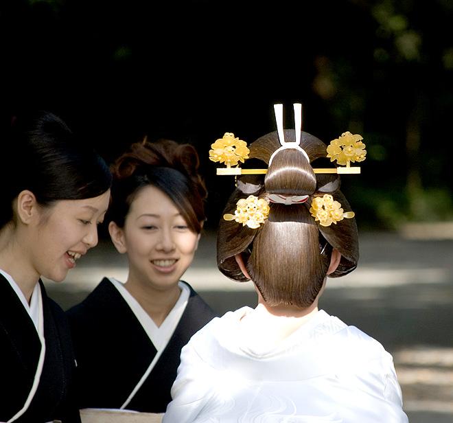 Chignon japonais