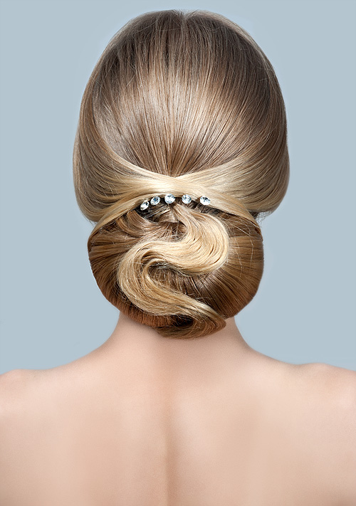 top 9 bridal updo hairstyles styles at life. Black Bedroom Furniture Sets. Home Design Ideas