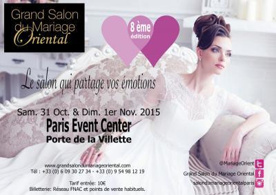 8 me grand salon du mariage oriental - Salon du mariage oriental paris 2015 ...