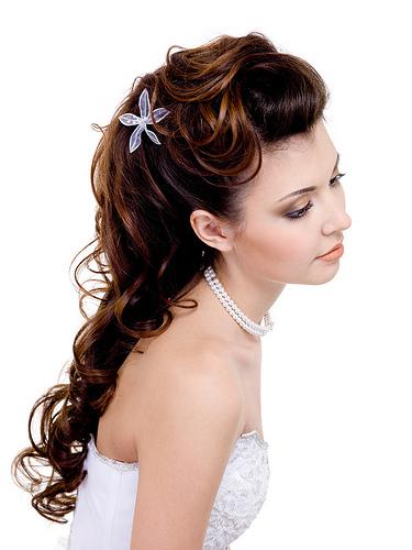 Les coiffures de mariage pour cheveux longs